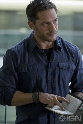 Venom First Look Tom Hardy as Eddie Brock