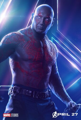 Guardians Of The Galaxy Drax Marvel
