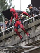 Deadpool Filming 42