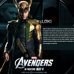 Loki's bio wallpaper.