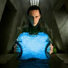 Loki takes Casket of Ancient Winters.