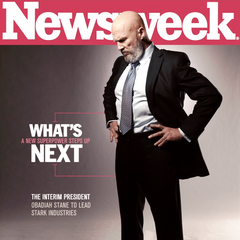 Obadiah adorns the cover of Newsweek