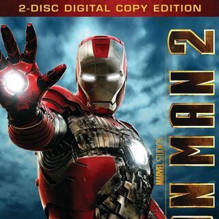 Iron Man 2 Dvd & Blu-Ray: Two-Disc