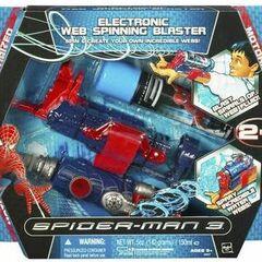 Electronic Web-Spinning Blaster