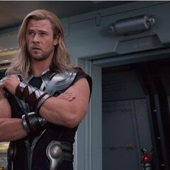 Thor's new look.