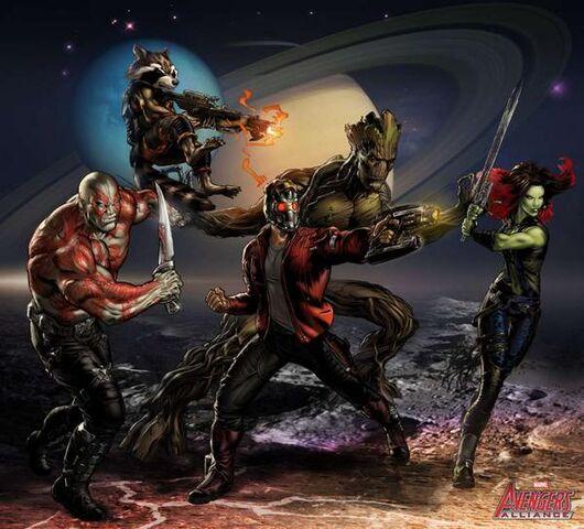 File:Guardians of the Galaxy Portrait Art.jpg