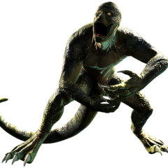 The Lizard Video Game Render