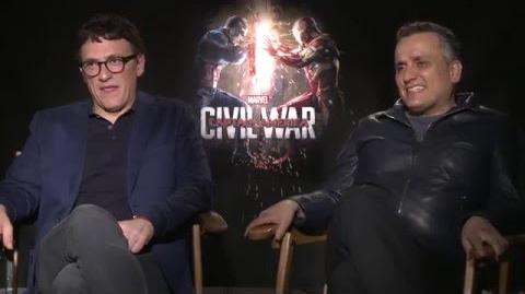 Captain America Civil War Directors Interview - Joe & Anthony Russo