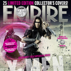 Warpath on the cover of <i>Empire</i>.