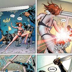 Natasha being attacked