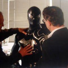 Unused costume for Black Spider-Man.