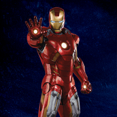 Promotional Russian Poster featuring Iron Man.