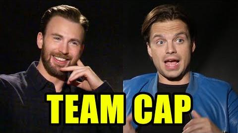 CAPTAIN AMERICA CIVIL WAR Interviews - Chris Evans, Sebastian Stan, Elizabeth Olsen, Anthony Mackie