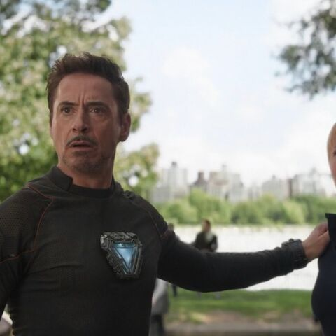 Potts and Tony Stark meet Doctor Strange.