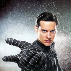 Promotional image of Black suit Peter.