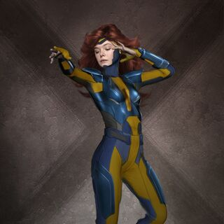 Elle Fanning as Jean Grey.