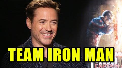 CAPTAIN AMERICA CIVIL WAR Interviews - Robert Downey Jr, Paul Bettany, Chadwick Boseman