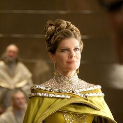 Frigga at Thor's coronation.