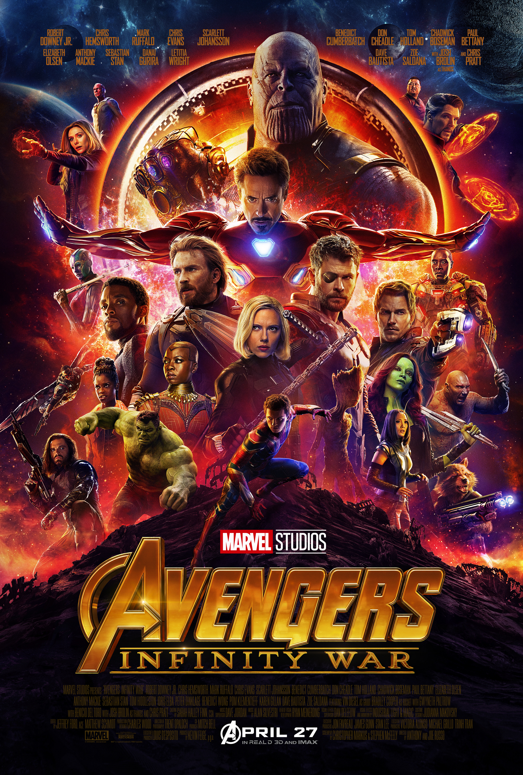 Avengers Infinity War Marvel Movies Fandom Powered By Wikia