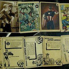 Coulson's Vintage Captain America card set 2