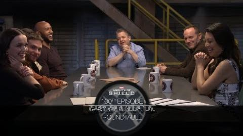 Cast of S.H.I.E.L.D. Roundtable - Marvel's Agents of S.H.I.E.L.D. 100