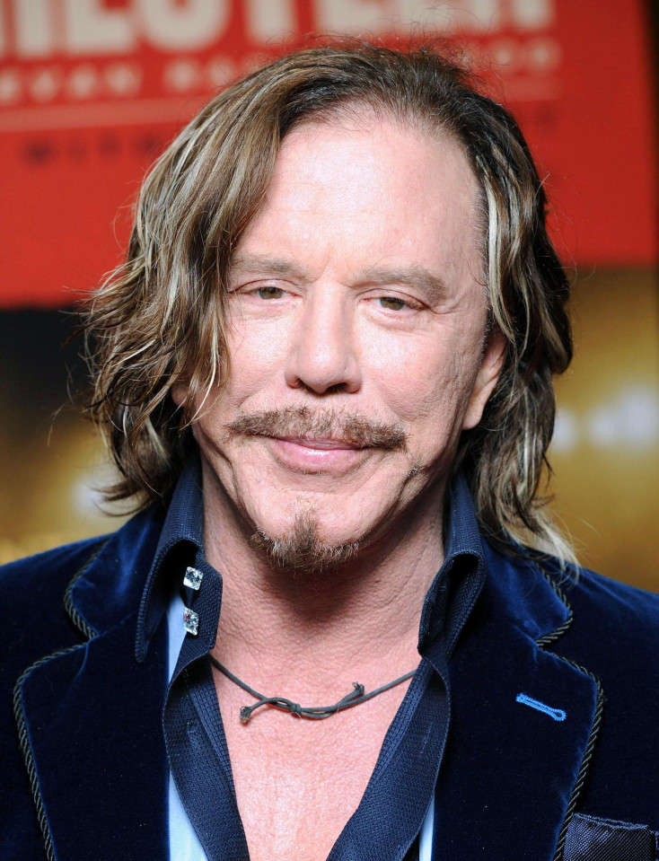 Skinny Mickey Rourke is poor imitation of his former sexy self ...