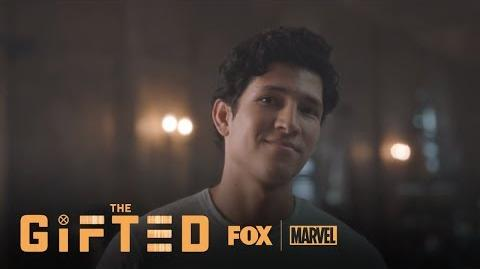 Wes Introduces Himself To Lauren Season 1 Ep. 6 THE GIFTED