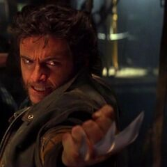Wolverine with his Claws