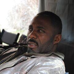 Idris Elba off set.