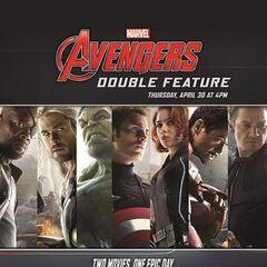 Marvel Avengers: Double Feature AMC ad.