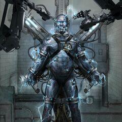 Concept art for Electro.