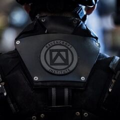 A Ravencroft Institute's security guard.