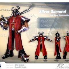 Silver Samauri Profile