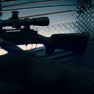 Barton grabbing a sniper.