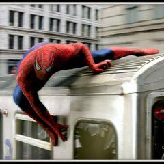 Spider-Man train.