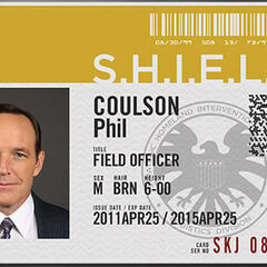 Coulson's Agent I.D. card.