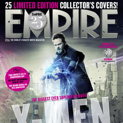 Iceman on the cover of <i>Empire</i>.
