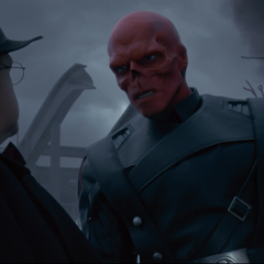 Red Skull with Arnim Zola