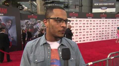 Ant-Man World Premiere Interview - Tip TI Harris