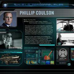 The Avengers Initiative: Coulson Bio.