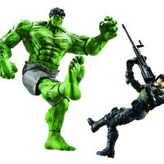 Mega Kick Hulk vs. Hulkbuster
