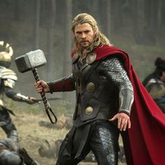 Thor on the battlefield.