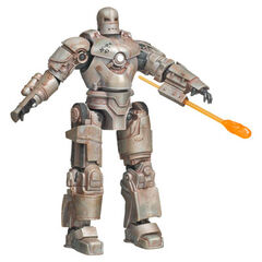 Iron Man, Mark 01<br /> includes a launching flamethrower