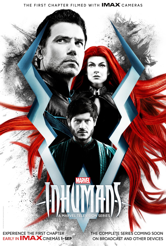 Risultati immagini per marvel's inhumans poster