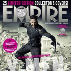 Future Wolverine on the cover of Empire.