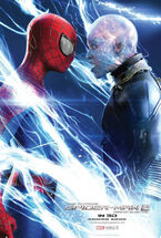 Spider-man vs electro poster
