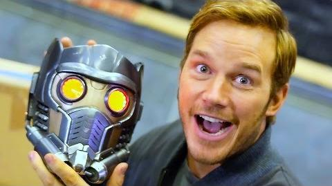 Chris Pratt Shows You Around the Set of Guardians of the Galaxy Vol