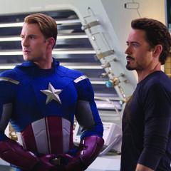 Steve Rogers and Tony Stark.