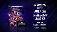 Marvel Studios' Avengers Endgame On Digital 7 30 & Blu-ray 8 13