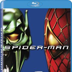 Spider-Man Variant Blu-Ray cover featuring The Green Goblin & Spider-Man.